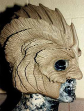 Universal's Halloween Horror Nights sculpt  finned creature (not from the black lagoon)