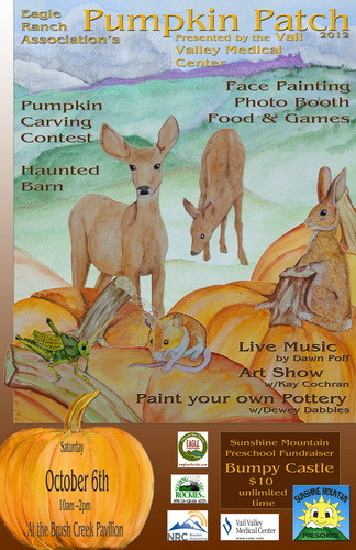 Pumpkin Patch posters  Local Critters