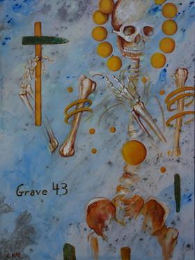 Hierarchy Gold Grave 43 acrylic