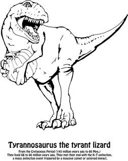 Tyrannosaurus the tyrant lizard CB page.jpg
