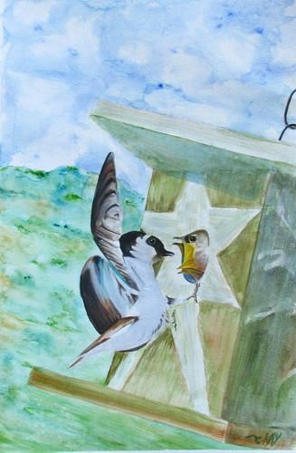 Parenthood watercolor