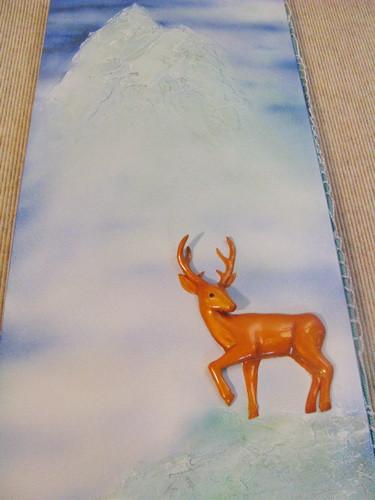 Deer Park upper panel bas-relief