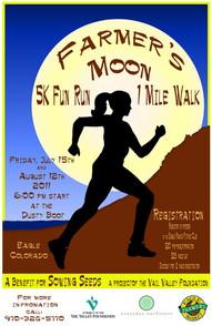 Farmers Moon Race Poster