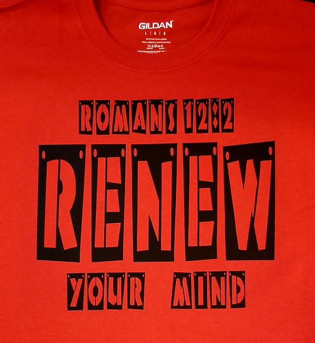 Renew Your Mind TShirt