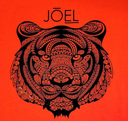 Custom JOEL Tiger Mandala Tshirt