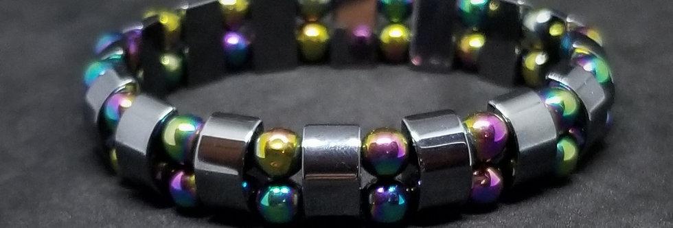 Hunter - Multicolor Hematite