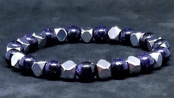 Blue Sandstone & Hematite