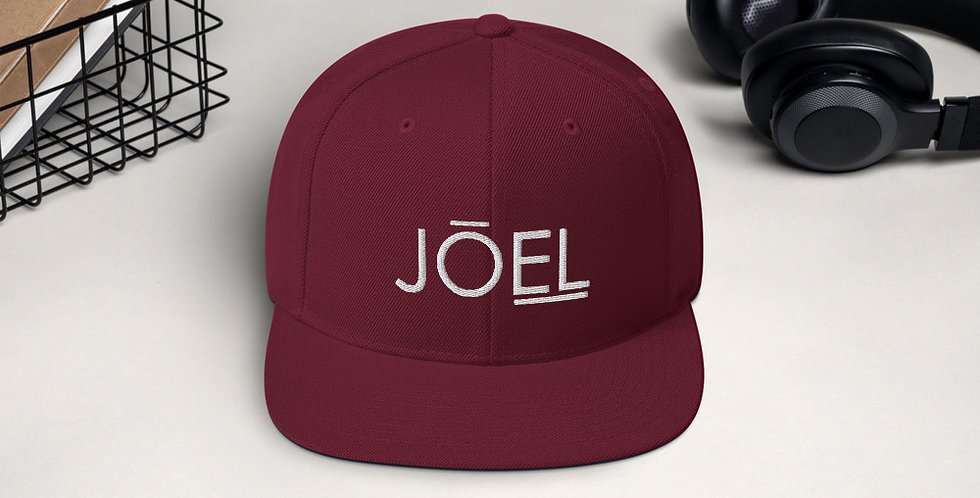 JOEL Snapback Hat (Multiple Colors Available)