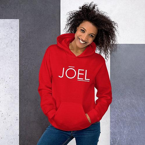 JOEL Unisex Hoodie (Multiple Colors Available)