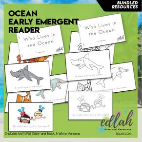 Ocean Early Emergent Reader - BUNDLE