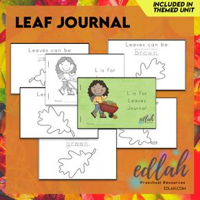 Leaf Printable Journal