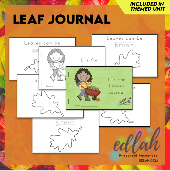 Leaf Printable Journal