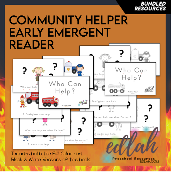 Community Helper Early Emergent Reader - BUNDLE