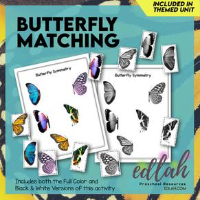 Butterfly Symmetry Activity