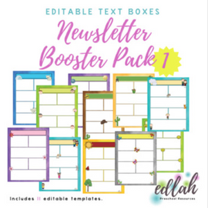 Newsletter Booster Pack 1 (for WORD users)_Generation 1