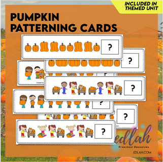 Pumpkin Patterning Cards - Full Color Version