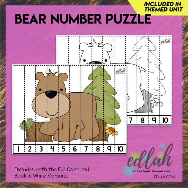 Bear Counting Puzzle
