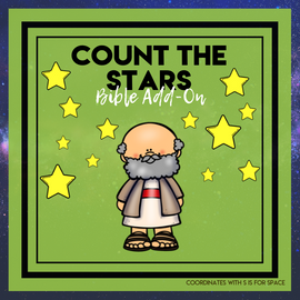 Count the Stars: Space Bible Add-On Mini Unit Lessons