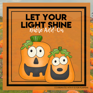 Pumpkin Bible Add-On Mini Unit Lessons