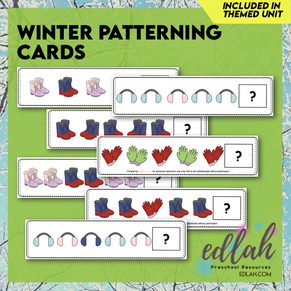 Winter Patterning - Full Color Version