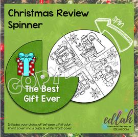 Christmas Story Nativity Spinner
