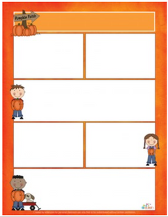 Pumpkin/Halloween Newsletter for Word_Generation 1