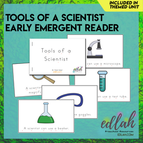 Science Tools Early Emergent Reader - Full Color Version