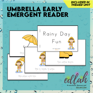 Weather Early Emergent Reader - Full Color Version