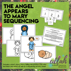 Angel Appears Story Sequencing Activity