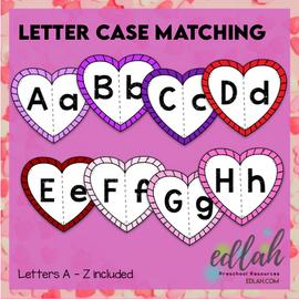 Valentine Letter Case Matching