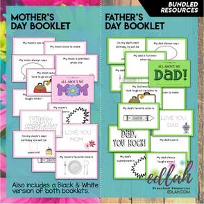 All About My Mom & All About My Dad BUNDLE