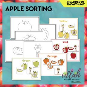 Apple Sorting Card Bundle