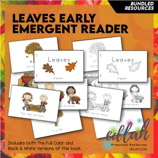 Leaves Early Emergent Reader - Bundle