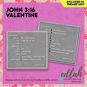 Valentine John 3:16