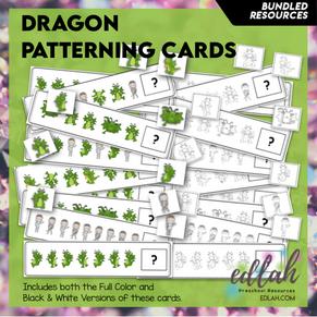 Dragon Patterning Cards - BUNDLE