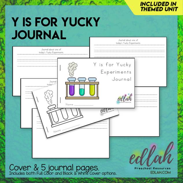 Yucky Journal