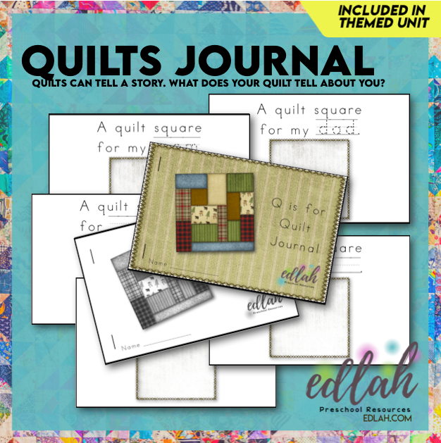 Quilts (western) Printable Journal