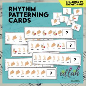Rhythm Patterning Cards - Full Color Version