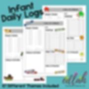Daily Logs for Infants Parent Communication