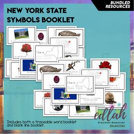 New York State Symbol Booklet BUNDLE