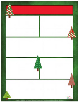 Christmas Tree Newsletter for Word_Generation 1