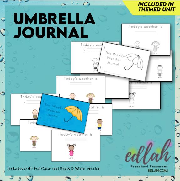 Weather Printable Journal