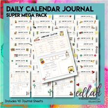 Calendar/Circle Time Journal Sheet MEGA Pack