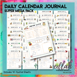 Calendar/Circle Time Journal Sheet MEGA Pack