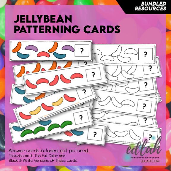 Jellybean Patterning Cards - BUNDLE