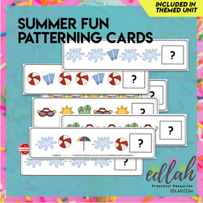 Summer Fun Patterning Cards - Full Color Version