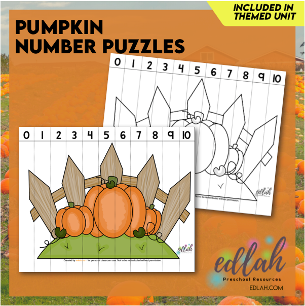 Pumpkin Counting Puzzle