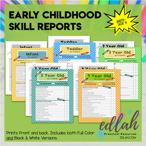 Early Childhood Progress Reports