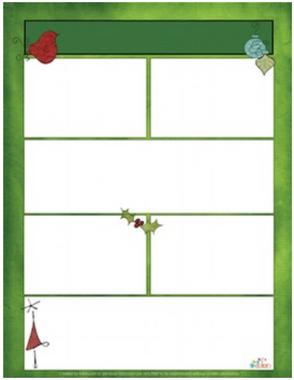Whimsical Christmas Newsletter for Word_Generation 1