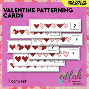 Valentine's Day Patterning Cards - Full Color Version